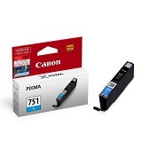 CANON Cyan Ink Catridge [CLI751C] - Tinta Printer Canon