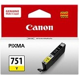 CANON Yellow Ink Catridge [CLI751Y] - Tinta Printer Canon
