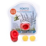 NOKITO Mosquito Repellent Bracelet - Red - Sticker / Spray / Gelang Anti Nyamuk