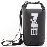 AZURBALI Waterproof Sling Bag 10L [AZURZ10L002] - Black - Waterproof Bag