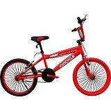 VIVA Hawk Freestyle BMX Paint Frame [FLY07] - Red - Sepeda Bmx