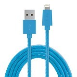 ZIKKO Lightning Adapter Cable 1.5m for iPhone [SC 500] - Blue - Cable / Connector Usb