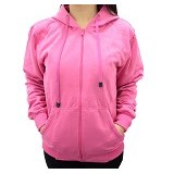 SSLAND Jaket Hoodie Wanita All Size - Pink (V) - Jaket Casual Wanita