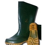COUGAR Gumboot Green Size 45 - Safety Shoes / Sepatu Pengaman