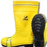 COUGAR Gumboot Yellow Size 42 - Safety Shoes / Sepatu Pengaman