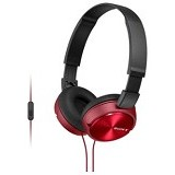 SONY Headphone [MDR ZX-310AP] - Red - Headphone Portable