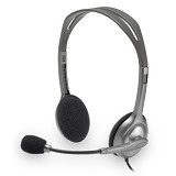 LOGITECH Stereo Headset H111 [981-000588] - Headset Pc / Voip / Live Chat
