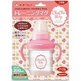 CHUCHU BABY Spout Training Mug Girls 200ml [4973210993980] - Perlengkapan Makan dan Minum Bayi