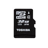 TOSHIBA Micro SDHC 32GB class 4 - Micro Secure Digital / Micro Sd Card