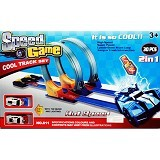 SPEED GAME Cool Track Set - Slot Car Track, Part, and Accessories