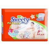 SWEETY Pants [L20] - Disposable Diapers / Popok Sekali Pakai