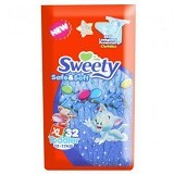 SWEETY Safe & Soft [XL32] - Disposable Diapers / Popok Sekali Pakai