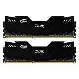 TEAM Memory PC 2x 4GB DDR3 PC3-17000 [Xtreem Dark TDKED38G2133HC10QDC01] - Memory Desktop DDR3