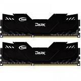 TEAM Memory PC 2x 8GB DDR3 PC3-17000 [Xtreem Dark TDKED316G2133HC10QDC01] - Memory Desktop DDR3