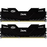 TEAM Xtreem Dark Memory PC 2x 4GB DDR3 PC3-19200 [TDKED38G2400HC11CDC01] - Memory Desktop Ddr3