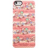 HELLO KITTY iPhone 5 Hard Case [SAN-154TSB] - Pink - Casing Handphone / Case