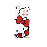 HELLO KITTY iPhone 5C Soft Case [SAN-276A] - White - Casing Handphone / Case
