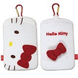 HELLO KITTY Mobile Bag Hipappo [SAN-293RD ] - White - Sarung Handphone / Pouch