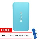 BLUETECH Powerbank 16000 mAh - Blue - Portable Charger / Power Bank