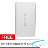 BLUETECH Powerbank 16000 mAh - White - Portable Charger / Power Bank