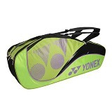 YONEX Racket Bag Pro Tennis 6Pcs - Lime - Tas Raket