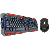 DRAGON WAR Sencaic Keyboard + Mouse Combo - Black - Keyboard Mouse Combo