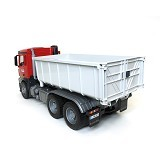 BRUDER Toys MB Arocs Truck With Roll-Off-Container - Mainan Simulasi