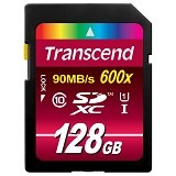 TRANSCEND SDHC 128GB [TS128GSDHC10U1] - Secure Digital / SD Card