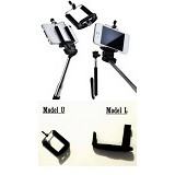 KOBUCCA SHOP Tongsis Holder U & I - Gadget Monopod / Tongsis