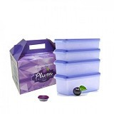 TUPPERWARE Plum Collection - Wadah Makanan
