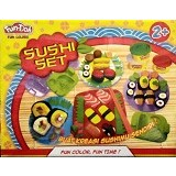 CHERIE TOYS Fun Doh Sushi Set - Clay and Dough