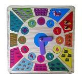 CHERIE TOYS Puzzle Stiker Jam - Wooden Toy