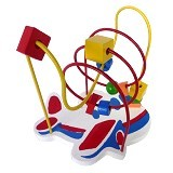 CHERIE TOYS Wire Game Pesawat - Wooden Toy