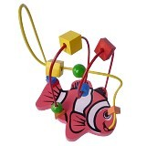 CHERIE TOYS Wire Game Ikan - Wooden Toy