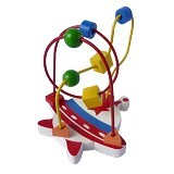 CHERIE TOYS Wire Game UFO - Wooden Toy