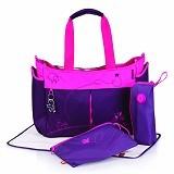 OKIEDOG Metro Mondrian [28306] - Purple - Tas Perlengkapan Bayi