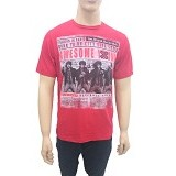 SPOON Men T-Shirt - Awesome Young Size M - Red (V) - Kaos Pria
