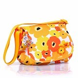 OKIEDOG Genie Flower Power [28327] - Yellow - Diapers Bag / Tas Popok