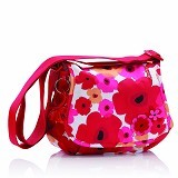 OKIEDOG Genie Flower Power [28294] - Red - Diapers Bag / Tas Popok