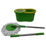 KENZA Spin Mop - Green Yellow