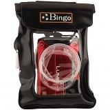 BINGO Waterproof camera zipper black wp1-1 - Other Photography Case and Pouch