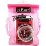 BINGO Waterproof camera zipper pink wp1-4 - Other Photography Case and Pouch