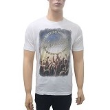 SALVAGE Men T-Shirt London Concert Size L (V) - Kaos Pria