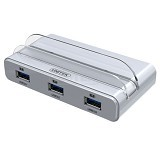 UNITEK Smart OTG Charging Docking Station with USB 3.0 4 Port Hub [Y-3067] - Cable / Connector Usb