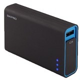 ON PRO Powerbank 9000mAh [MB-Q9] - Black Blue - Portable Charger / Power Bank