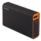 ON PRO Powerbank 9000mAh [MB-Q9] - Black Yellow - Portable Charger / Power Bank