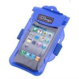 BINGO Waterproof Bag [WP06-11] - Blue - Plastik Handphone / Waterproof