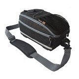 EIBAG Tas Sepeda Murah Trunk Bag [1510] - hitam - Travel Shoulder Bag