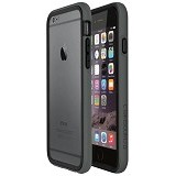 RHINO SHIELD Crash Guard for Apple iPhone 6 Bumper Only Dark [AA0102803] - Grey - Casing Handphone / Case