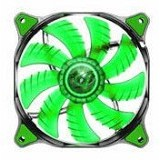 COUGAR Fan Dual-X LED [CF-D12Hb] - Green - Kipas Komputer